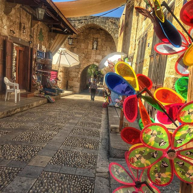 This beautiful old thing called Byblos😍❤ (Byblos - Jbeil)