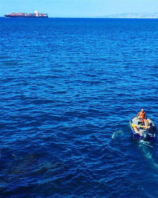 If your ship doesn't come in, swim out to meet it. -J.W🎣🛶🚢🏊🏼♀️💙... (Beirut, Lebanon)