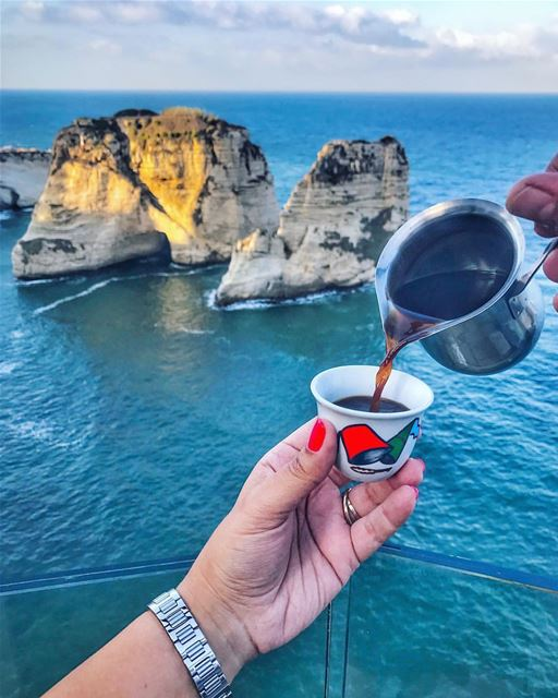 Kindness is like coffee, it awakens your spirit and improves your day.... (Ar Rawshah, Beyrouth, Lebanon)