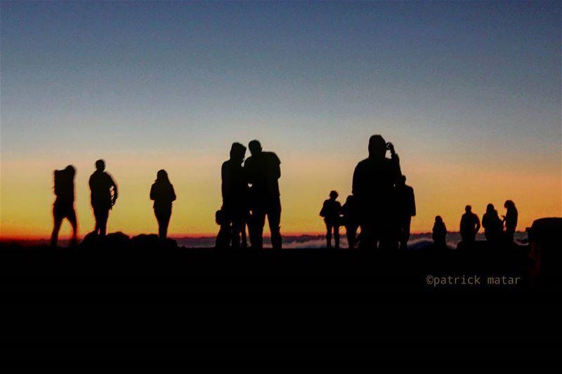 This kind of sunsets.............. art arts artist ... (Faraya, Mont-Liban, Lebanon)