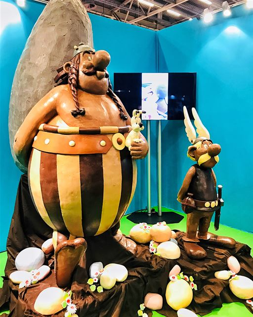Traduction française 👇🏻My first chocolate experience in the 23rd... (Parc Des Expositions (Paris Expo))