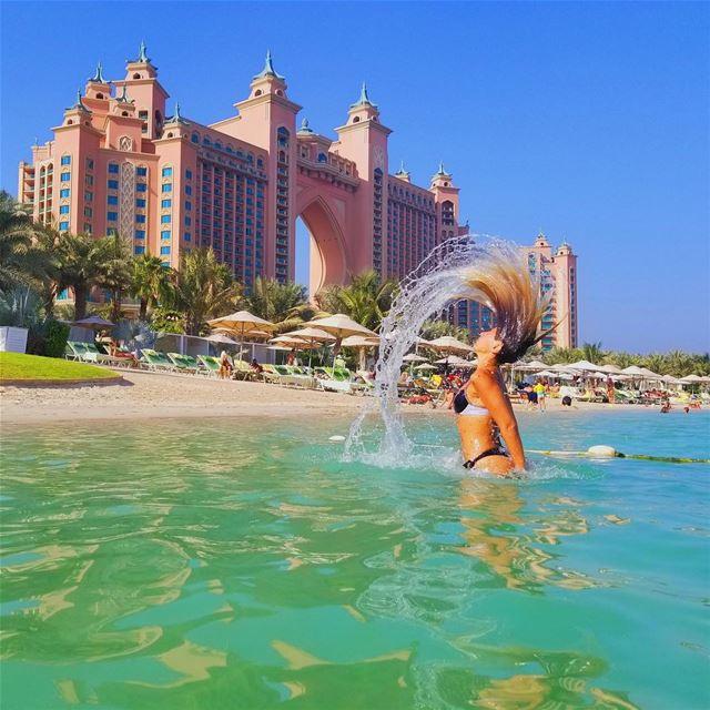 In a burst of 50 pictures I found this one. mydubai ❤️ ... (Atlantis The Palm, Dubai)