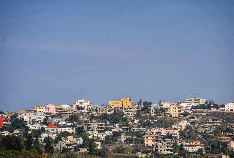 على كتف السهل insta_mood insta_lebanon lebanon south_lebanon ... (El Qlaïaâ, Al Janub, Lebanon)