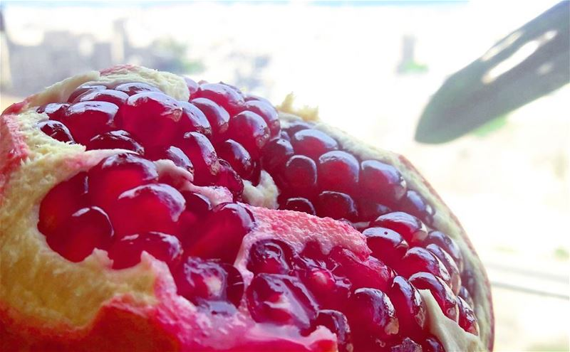 One of the sexiest fruits ever! pomegranate  Fruits  Sexy  Healthy ... (Tripoli, Lebanon)