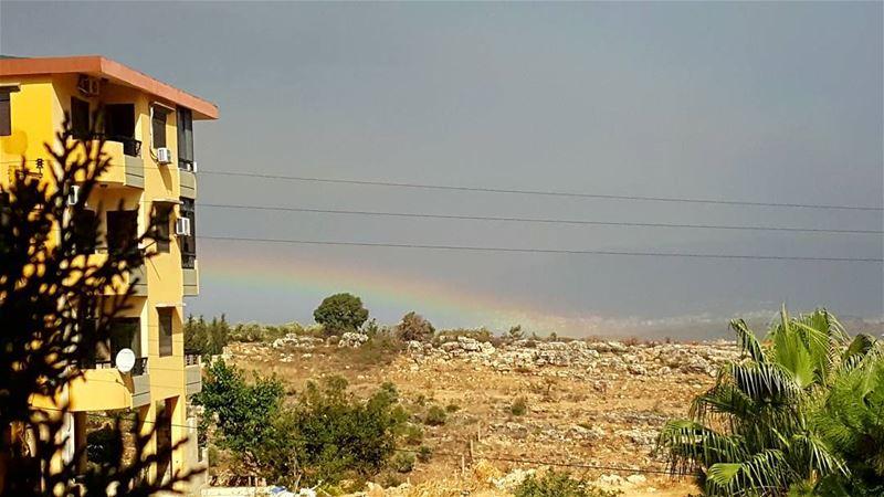 قوس_قزح تأمل تصويري الكورة شمال_لبنان arcenciel my_lens ...
