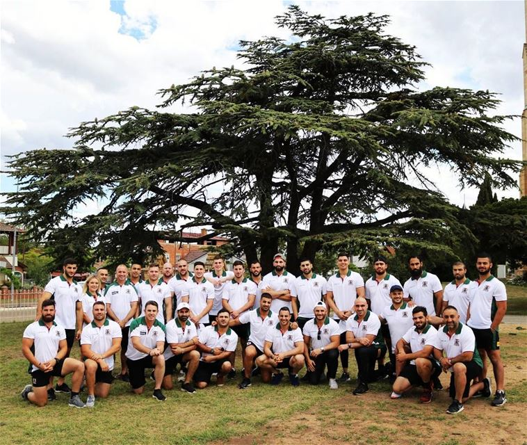 """Wishing all the best to our Lebanese national Rugby league team """"The... (Lebanon)"""