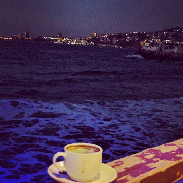 lebanon jounieh livelovelebanon livelovejounieh✨ lebanese evenings ... (Makhlouf Sur Mer Beach Restaurant مخلوف سور مير)