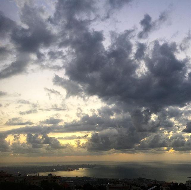 lebanon beirut clouds mediterranean livelovelebanon instalike ...