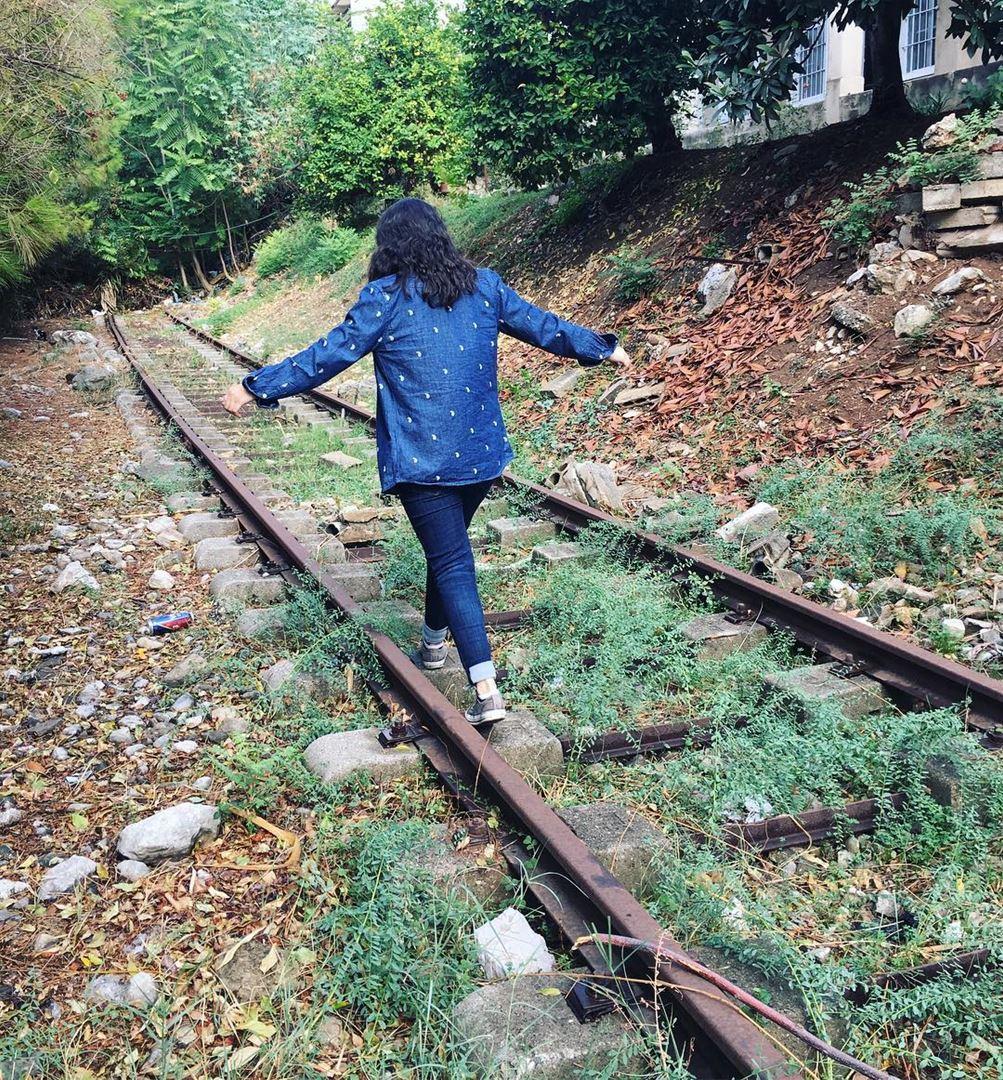 Everything in life is about balance.... trainrails livelovejounieh ... (جونية - Jounieh)