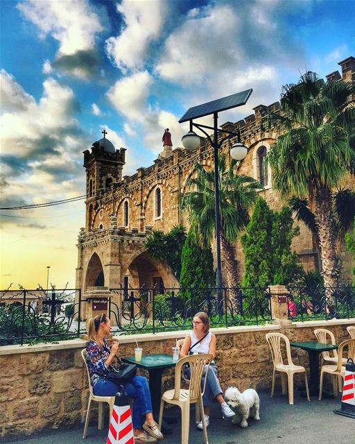 Batroun Souks 🇱🇧❤️🇱🇧 livelovebatroun livelovelebanon ... (Saint Estephan Church)