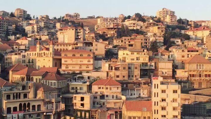 Blessed Sunday to everyone🏡💒 zahle bekaa lebanon livelovezahleh ... (Zahlé, Lebanon)