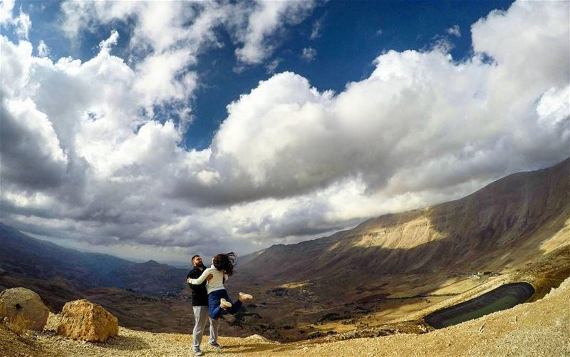 Stormy Weather Clouds HavingFun Jump Arez Bcharre Lebanon... (Arz Bcharé)