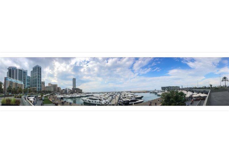 Because it's Beirut 🇱🇧 livelovebeirut waterfront bay ... (Beirut, Lebanon)