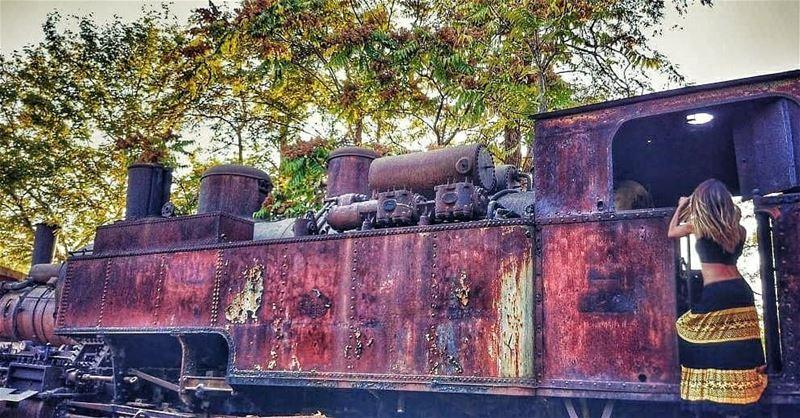 Our dear old train....... train railwaylebanon history railway ...