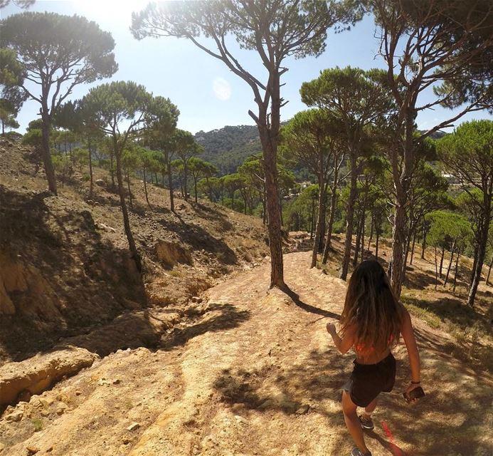 Trust the magic of new beginnings🌟.... livelovebeirut lebanon ... (Jezzîne, Al Janub, Lebanon)