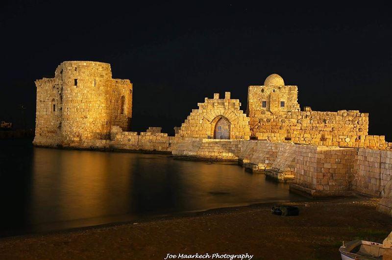 Sidon Fortress! sidon fortress lebanon igers photography ...