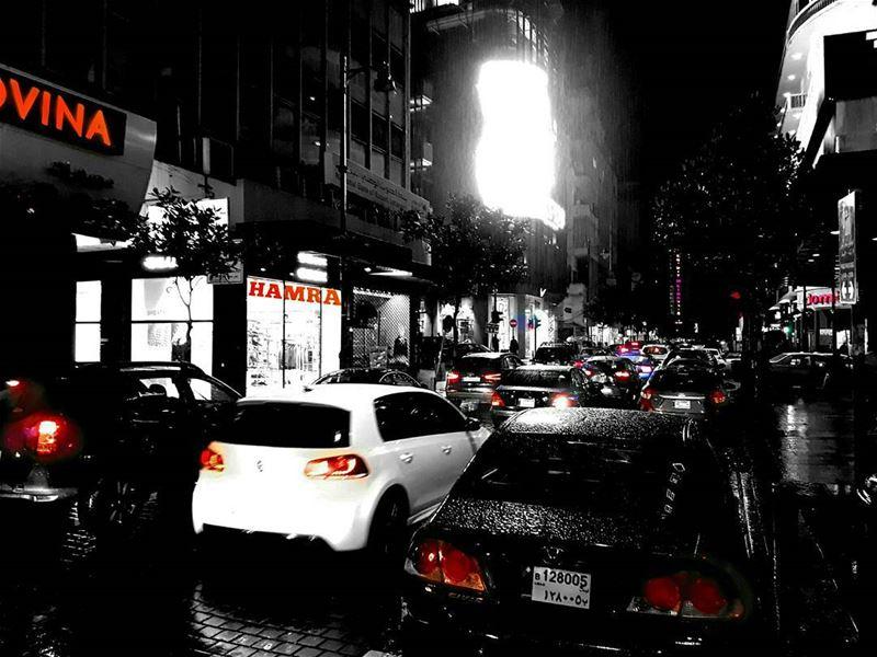 I Love it when it rains ... حمرا |... (Hamra, Beyrouth, Lebanon)