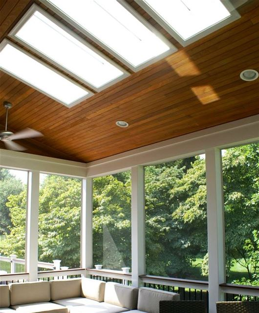 Winter is Coming! Cover your Outdoor Space with Steel, Wood, Skylights...