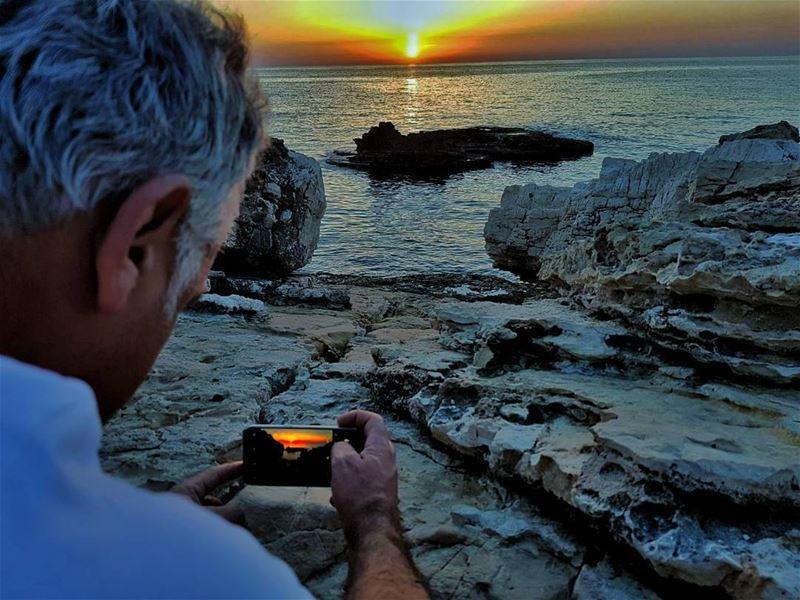 sunset sunsets sunset_ig sunset🌅 sunsetlover sea mediterraniansea ... (Kfar Abida)
