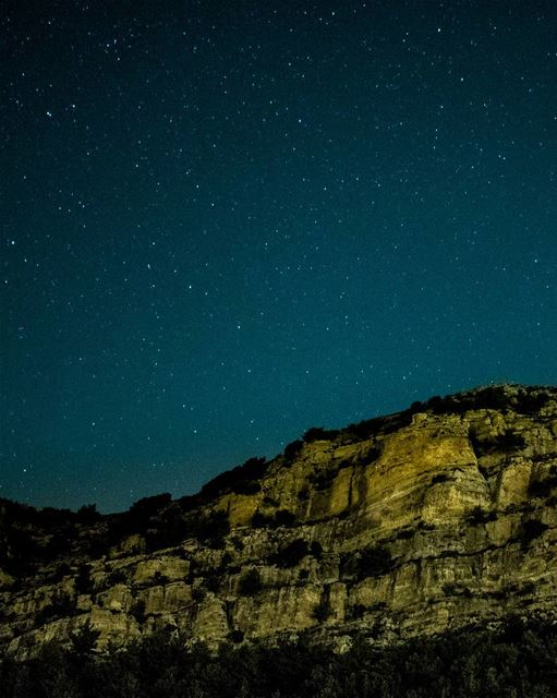 """I will meet you there where, every night, the sky leans down to kiss the... (Ehden, Lebanon)"