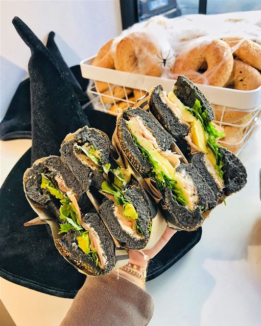 Bagel Corner Paris is celebrating Halloween with the limited edition Black... (Bagel corner)