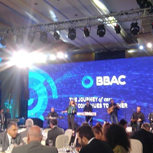 Congratulations  bbac for the new  logo  galadinner  event  bank  banking ... (Four Seasons Hotel Beirut)