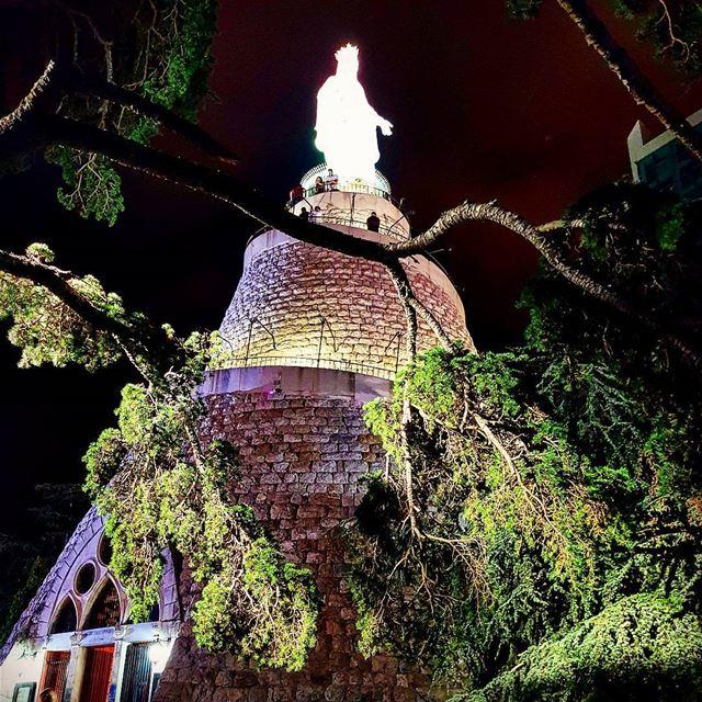 Our lady of Lebanon lady of lebanon jounieh harissa church ... (Harîssa, Mont-Liban, Lebanon)