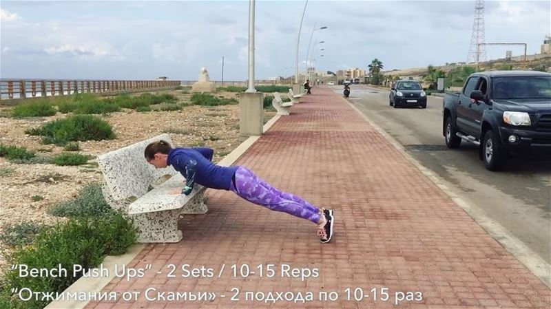 ✔️BENCH PUSH UPSBench push ups are a great exercise that strengthen and... (Amchit)