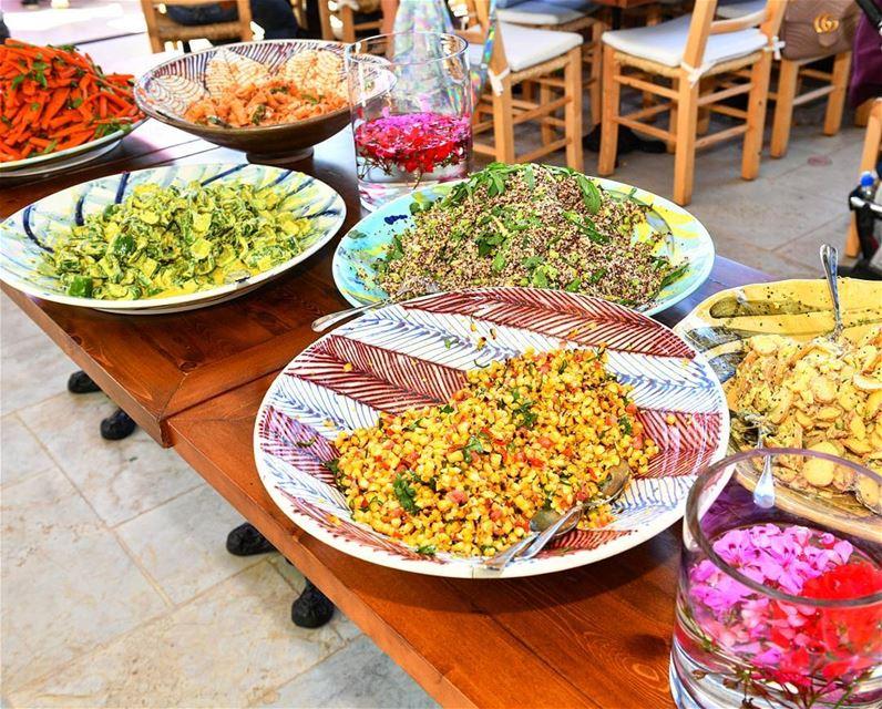 Healthy colors by Chef Hussein Hadid Bkerzay Lebanon LiveLoveLebanon ... (Bkerzay)