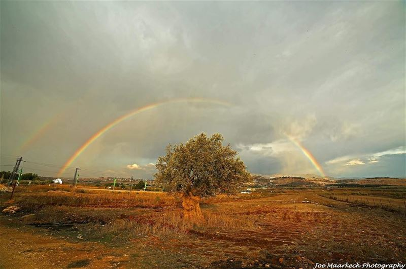 Sometimes the greatest storms bring out the greatest beauty… Life can be a... (Al Khiyam, Al Janub, Lebanon)