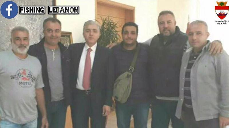إجتماع أعضاء ميناء المنارة رأس بيروت مع رئيس بلدية بيروت ألمهندس جمال عيتان (Beirut, Lebanon)