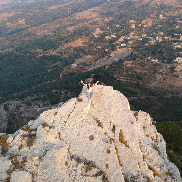 It's just a hill.. Get over it! whatworksformaya roatrip ... (Hardîne, Liban-Nord, Lebanon)
