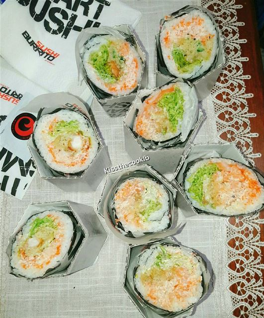 Salmon, Shrimp or Crazy Burritos ?? @ichiban_express kissthecooklb ... (Koura)