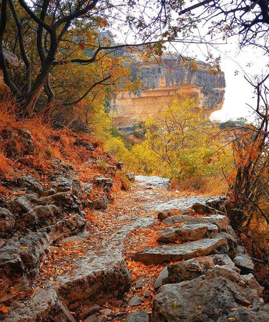 Beautiful nature 🍁 lebanon nature naturelovers natureporn landscape ... (Akoura, Mont-Liban, Lebanon)