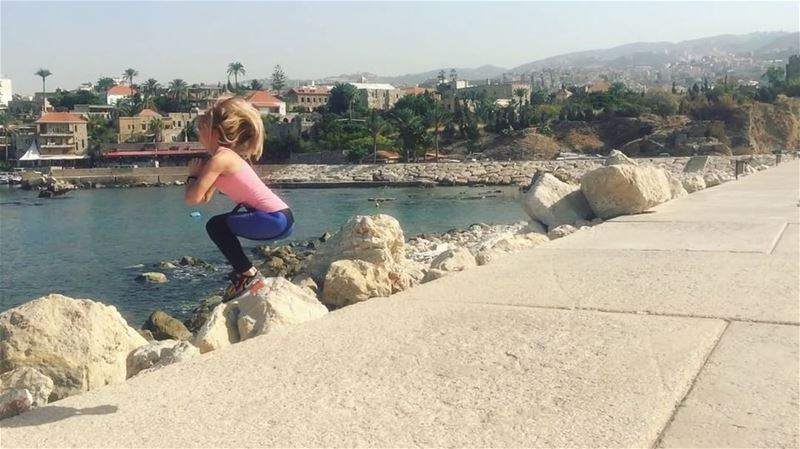 (Текст на русском ниже⤵️)✔️QUICK WARM-UP BEFORE WORKOUT• Just 3-5... (Port Byblos)