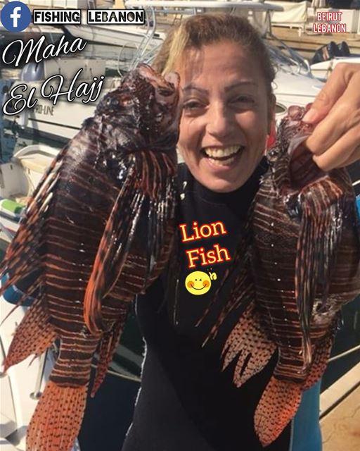 @maha_el_hajj & @fishinglebanon - @instagramfishing @jiggingworld @gtbuster (Beirut, Lebanon)
