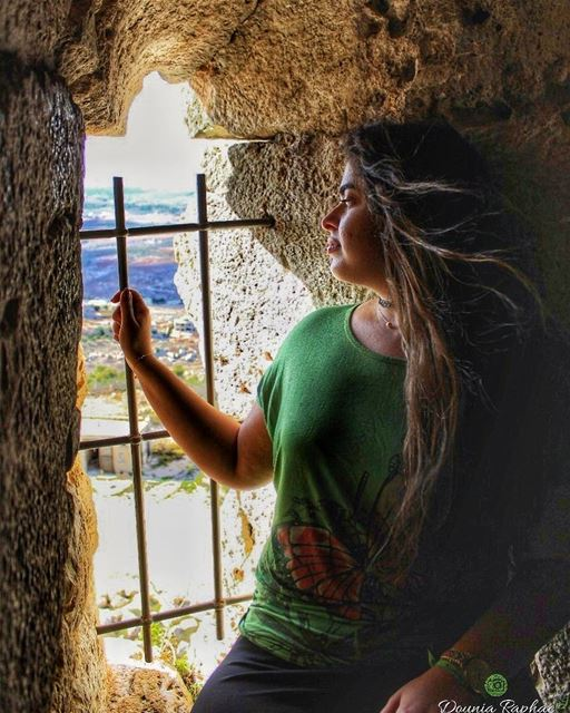 Feeling like a boss when the wind blows your hair back like in the movies � (Rapunzel's castle)