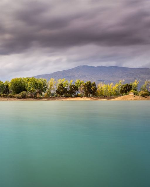 "Calm before the storm, Taanayel Lake, Bekaa. Lebanon livelovebekaa . 30""... (Deïr Taanâyel, Béqaa, Lebanon)"