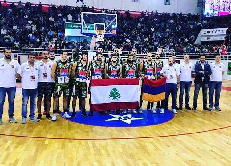 نادي الهومنتمن الرياضي يفوز ببطولة الاندية العربية بكرة السلة بالمغرب.⠀⠀⠀⠀