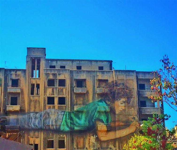 A masterpiece in the heart of Beirut. art artistic wallpaper graffiti...