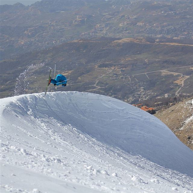 ⏩⛷️... (Faraya, Mont-Liban, Lebanon)
