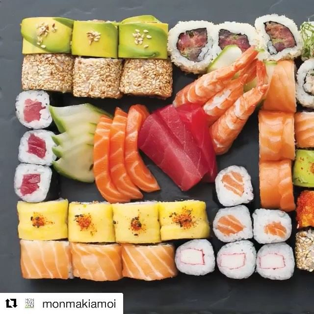 Take me out for sushi & i'll like you forever 🍣😍Location: @monmakiamoi ... (Mon Maki A Moi)