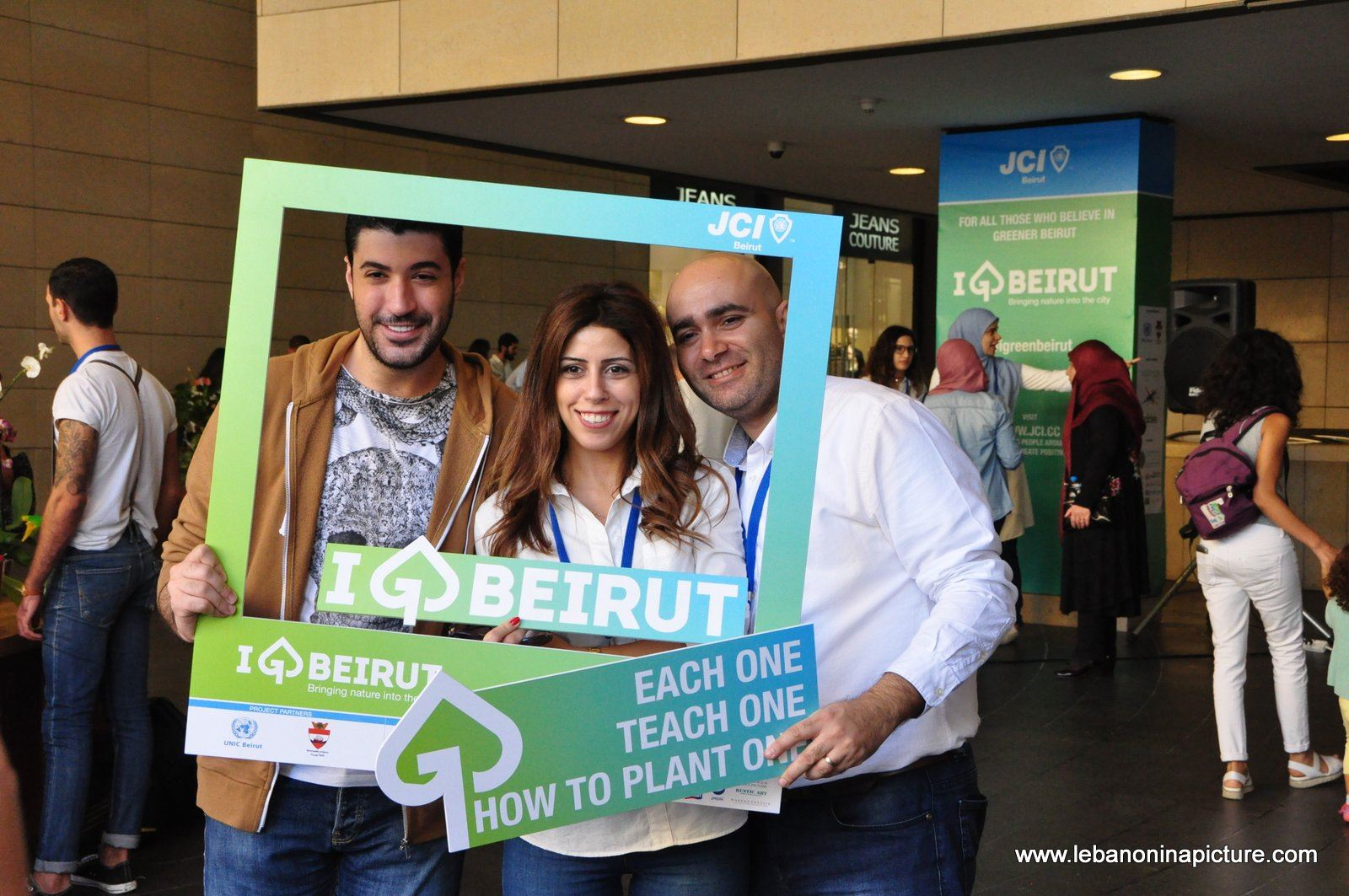 JCI Lebanon's I Green Beirut Event Pictures from Beirut Souks