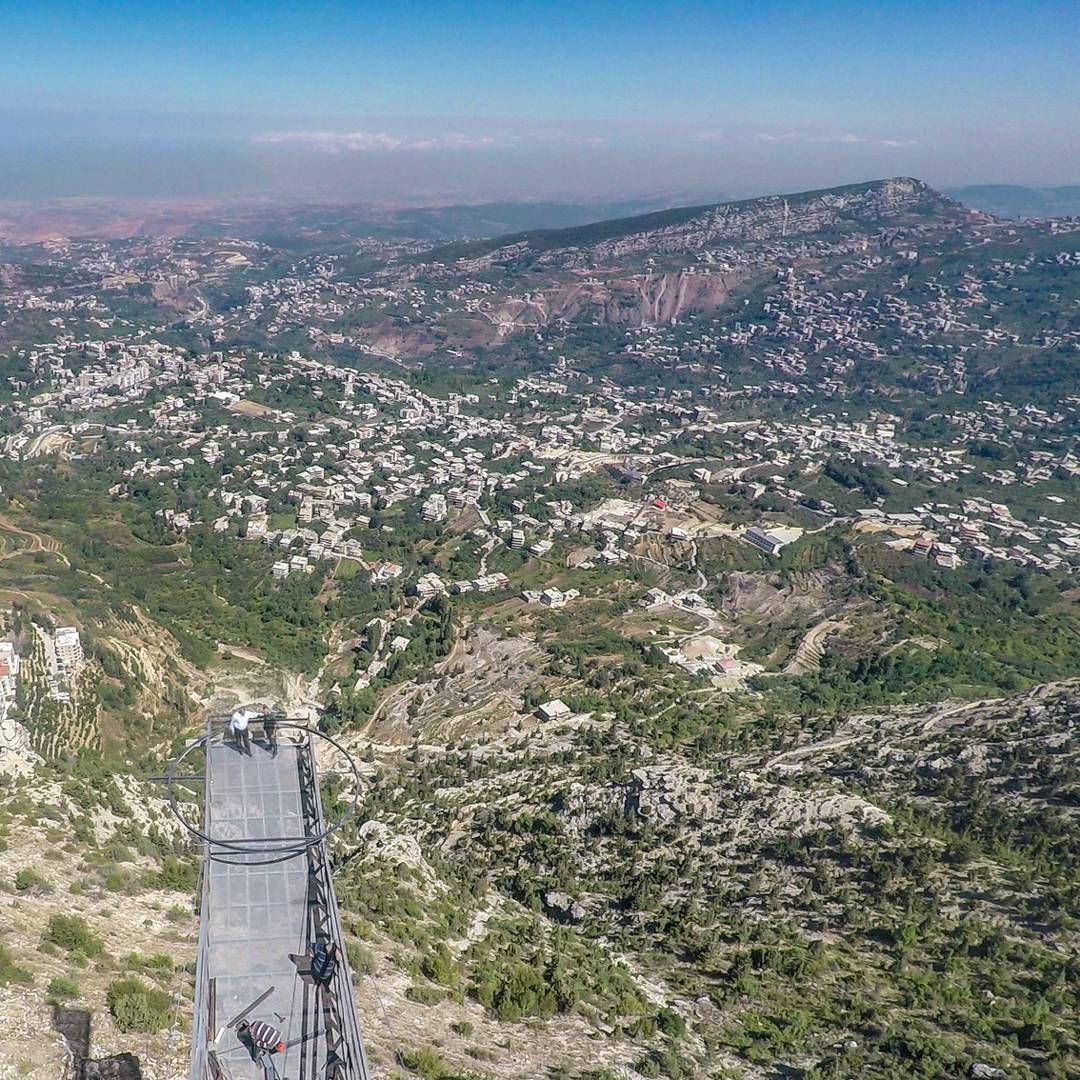 منظر من جبل الاربعين على الضنية... lebanon donnieh nature peak ...