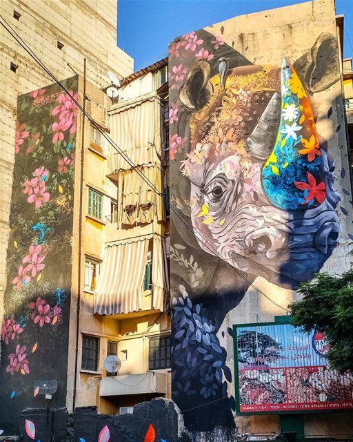 Concrete Jungle 🌈 (Beirut, Lebanon)