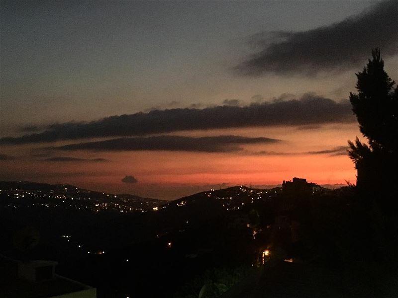 total_shot enchanting_sunsets jj_skylove best_skyshots sunset_madness... (Broummâna, Mont-Liban, Lebanon)