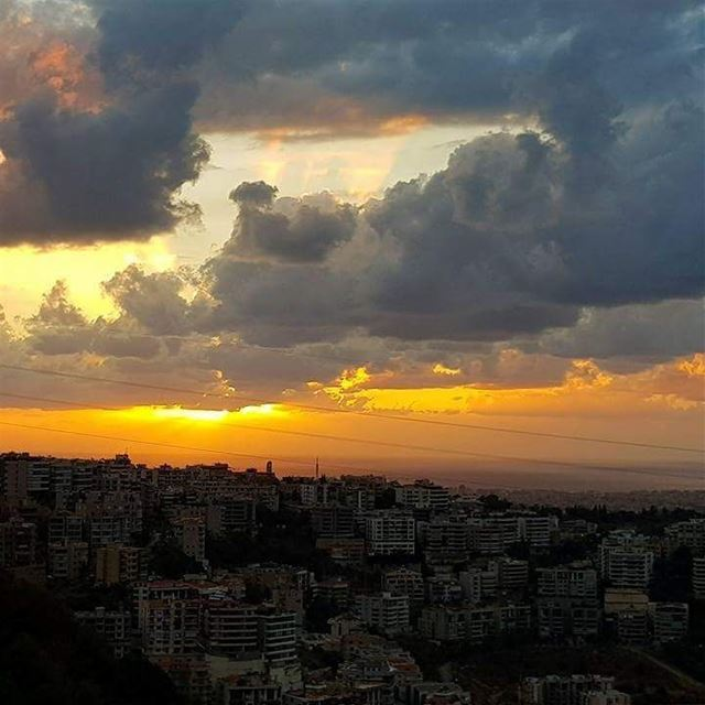 My lebanon autumn beirut lebanon mylebanon sunset colors nofilter ...