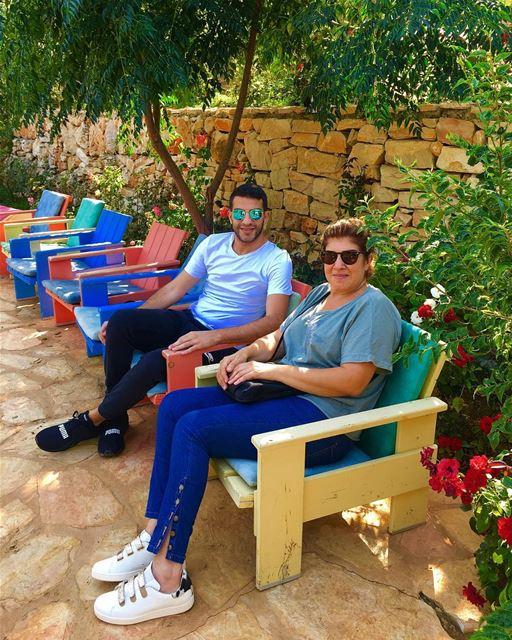🇱🇧🌳🌿Beit EL Qamar 🇱🇧🌳🌿 coffee coffeetime vacation breathe finally... (Dayr Al Qamar, Mont-Liban, Lebanon)