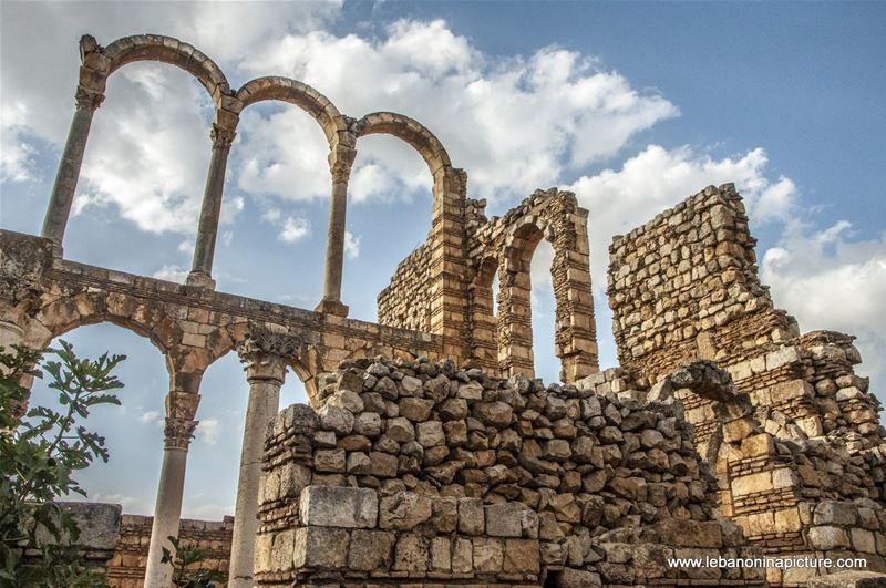 Anjar Ruins Bekaa Lebanon