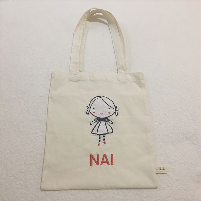 Write it on fabric by nid d'abeille nai set poncho totebag cover ...